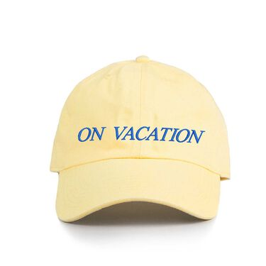 On Vacation- Yellow