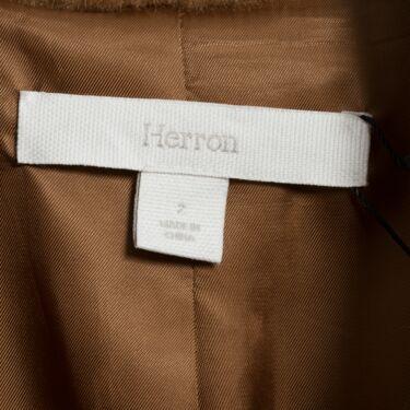 Frilly Herron Wool Overcoat