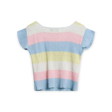 Vintage Pastel Knit Shirt
