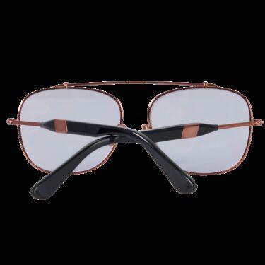 Westward \\ Leaning-  Malcolm Polished Rose Gold Sunglasses