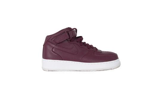 "NikeLab Air Force 1 Mid ""Deep Garnett"""
