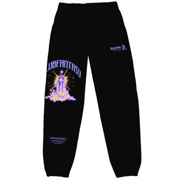 Club Fantasy Future Gaze Sweatpants in Black