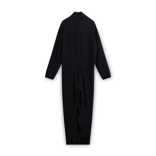 Nanushka Black Mock Neck Jumpsuit