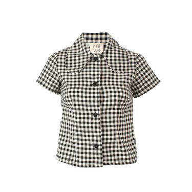 Lykke Wullf Rose Ginham Flannel Button Up