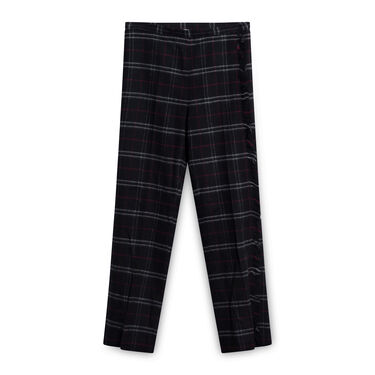 Woolrich Archive Stretch Wool Trousers - Black