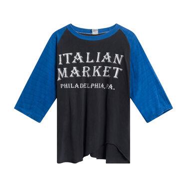 Vintage Italian Market Pennsylvania Long-sleeve T-Shirt