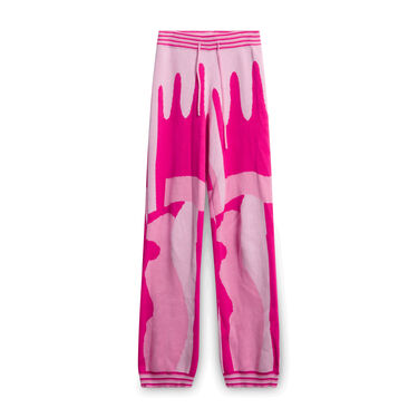 Helmstedt Tie Pants - Pink Glaze