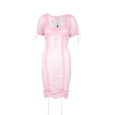 For Love & Lemons Skivvies Rosalie Shirred Nightgown