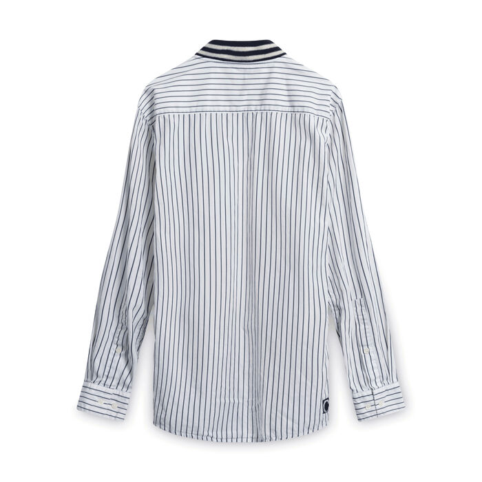 Clot x Undefeated Stripped Shirt
