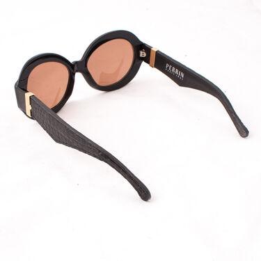 Perrin Paris Leather Trim Sunglasses