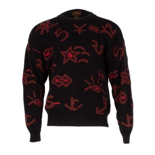 Vintage Eddie Bauer Character Sweater in Black