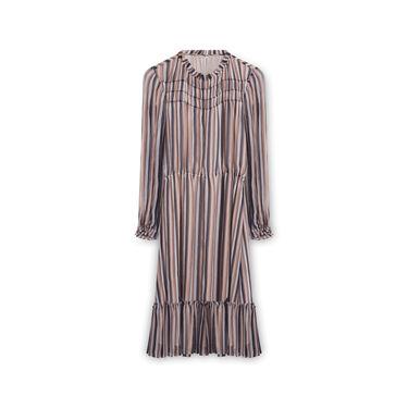 Derek Lam 10 Crosby Striped Long sleeve Dress - Multicolor