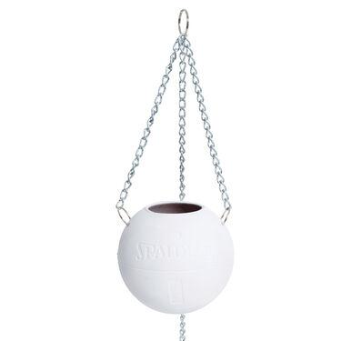 Ceramic Hanging Spalding Basketball Planter
