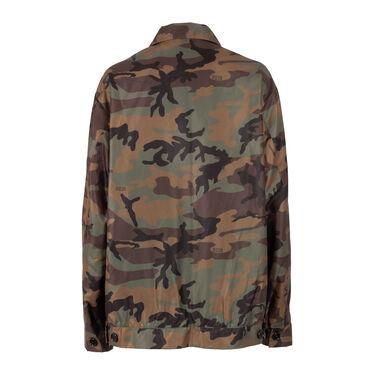 GCDS Camo Winbreaker Jacket