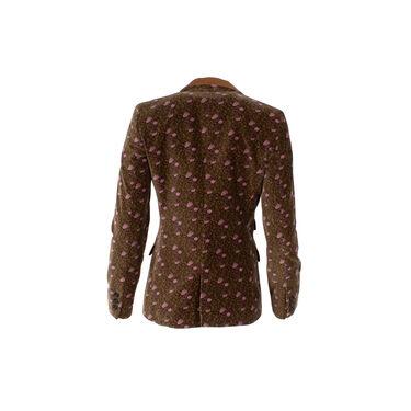 Dolce & Gabbana Floral Patterned Blazer