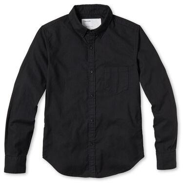 Entireworld Organic Cotton Oxford Shirt - Black