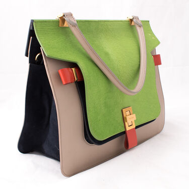 Vionnet Squared Calfskin Bag