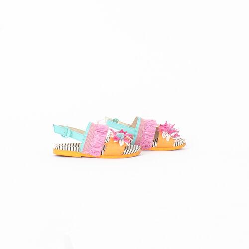 Sophia Webster Jute Flower Sandal