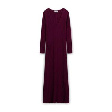 St. John Knit Dress - Maroon