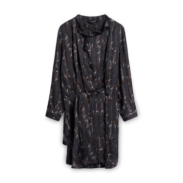 Isabel Marant Feather Patterned Dress