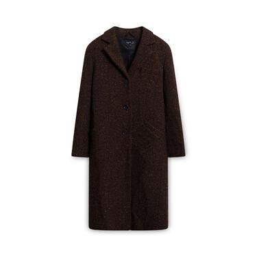 Agnes Paris Wool Coat - Brown