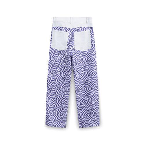 Lisa Says Gah! Purple Warp Checkered Pants