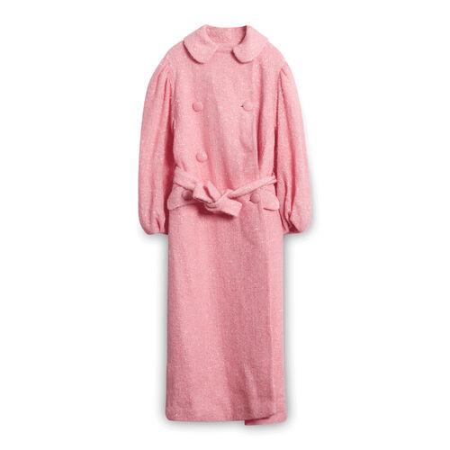 Simone Rocha Pink Wool Coat