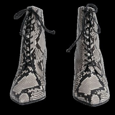 Self Portrait Amelia Lace Up Ankle Boots