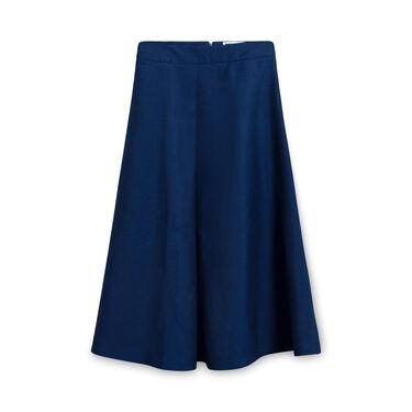 Etienne Deroeux Maxi Skirt - Blue