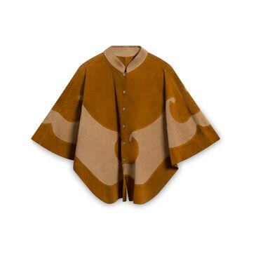 Vintage Suede Cloak