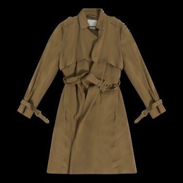 Massimo Dutti Wrap Trench Coat