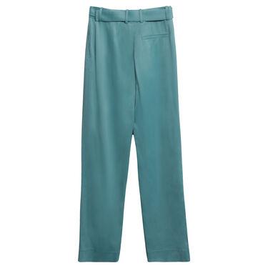 Sies Marjan Blanche Belted Pant in Aqua