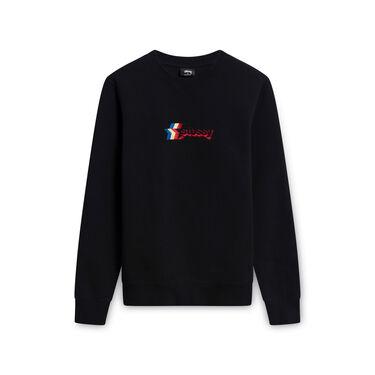 Stussy Sweatshirt with Retro-Inspired Logo