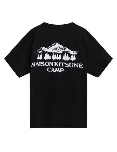 US MK Camp Short-Sleeved Tee-Shirt - Black