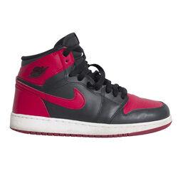 Nike Air Jordan 1 Mid Basketball Shoes - Red/Black