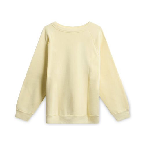 Vintage Black and Beautiful Sweatshirt - Light Yellow