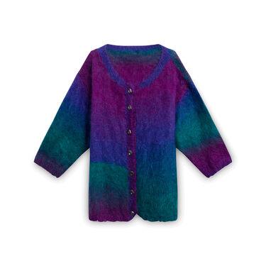 Vintage Rainbow Knit Sweater