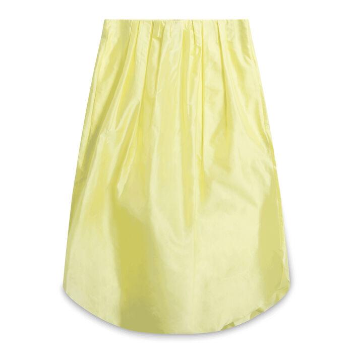 Cos Midi Skirt - Yellow