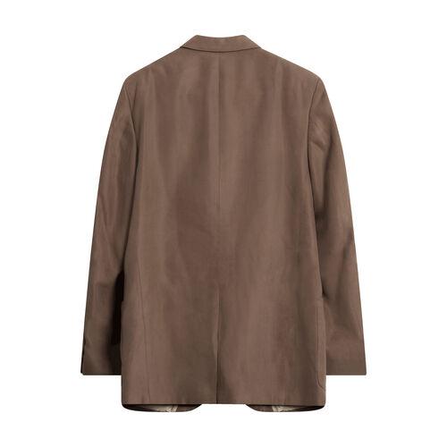 Vintage Suede Suit Jacket