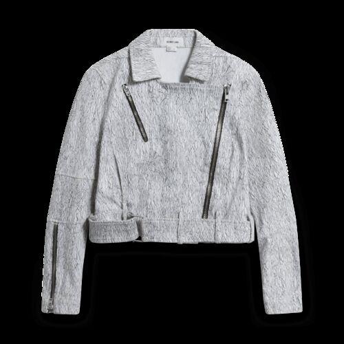 Helmut Lang Cropped Biker Jacket