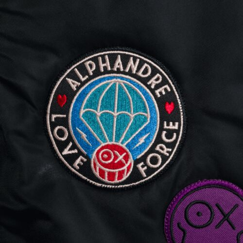 Alpha Industries x André Insulated Bomber Jacket Black