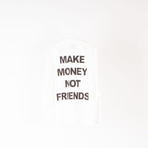 """Fifty Karats """"Make Money Not Friends"""" Coach's Jacket"""