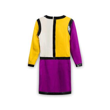 Courreges Color Block Mini-Dress