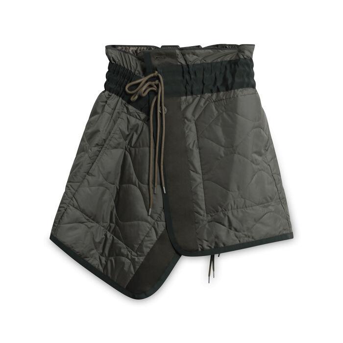 Sacai Bomber Skirt - Dark Green/Olive