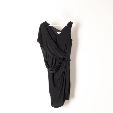 Helmut Lang Asymmetric Jersey Dress