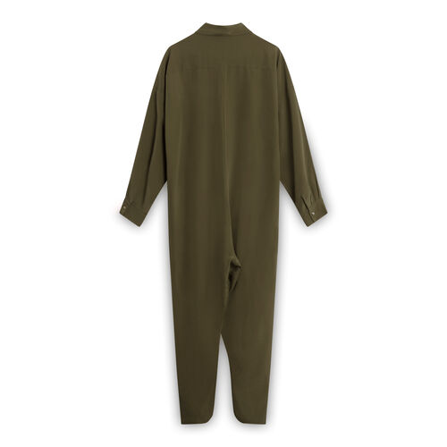 Datura Olive Green Ren Jumpsuit
