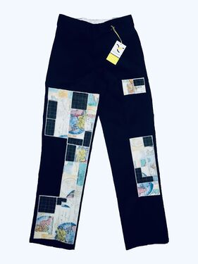Axecents Map Pack Regular Fit Work Pants - Black
