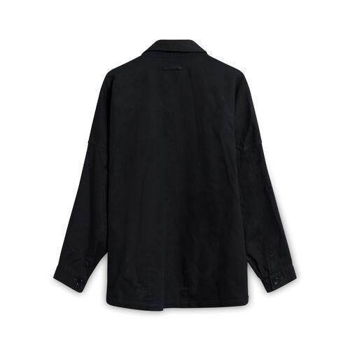 Smock Japanese Linen Button-Down Shirt - Black