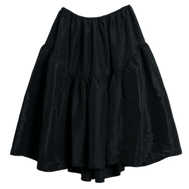 Cecilie Bahnsen Gathered Shell Midi Skirt