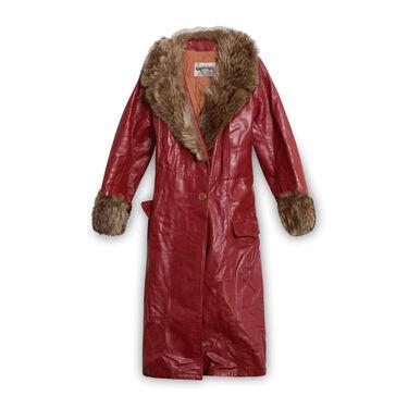 Strides Leather Coat